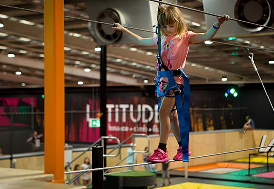 obstacle high ropes course melbourne