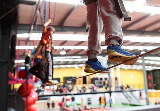 Indoor Rock Climbing Bounce Fly Climb Latitude