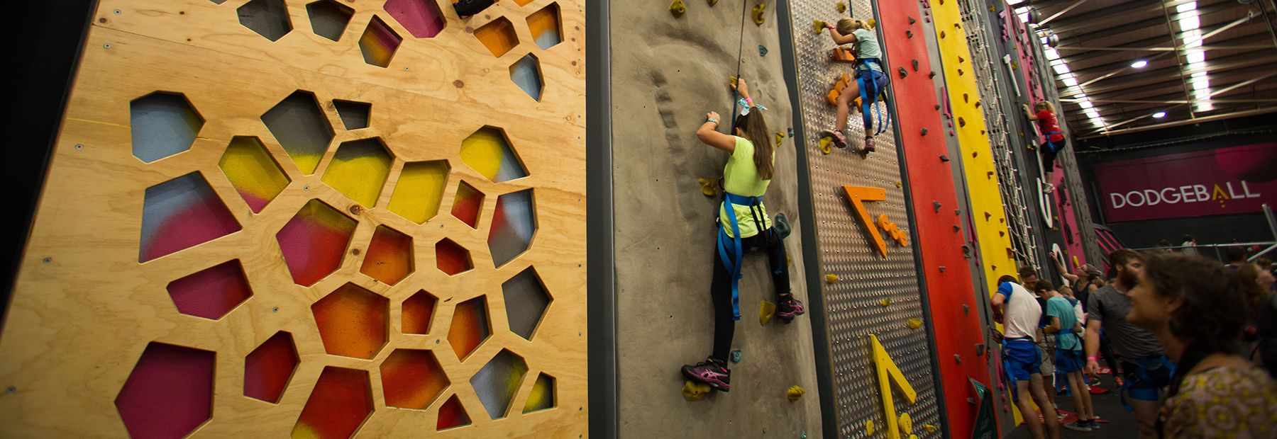Perspex Wall Climbing Challenge